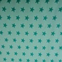 Étoiles blanches fond bleu