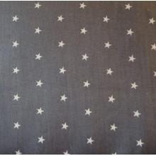 Mini étoile blanches fond gris